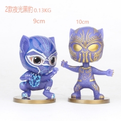 Black Panther Movie Eyes Lighting Cosplay Cartoon Model Collection Toys Anime Figure (2pcs/set)