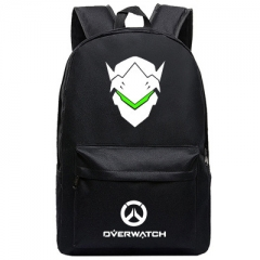 Overwatch Cosplay High Quality Anime Backpack Bag Black Travel Bags