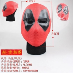 Deadpool Movie Soft Plastic Cosplay For Party Decoration Helmet Anime Face Mask