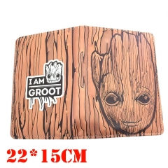 Guardians of the Galaxy Movie Groot Cartoon Cosplay Card Holder Anime Passport Book Card Bag