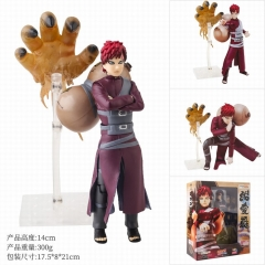 Naruto Gaara Cartoon Model Toy Statue Anime PVC Action Figures