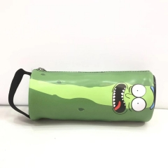 Rick and Morty Cartoon Cosplay Pencil Case For Student Anime Pencil Bag