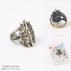 The Seven Deadly Sins Cosplay Cartoon Decoration Finger Anime Ring