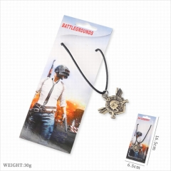 Playerunknown's Battlegrounds Game Pendant Necklace PUBG Stainless Steel Anime Necklaces