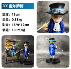 DX One Piece Youth Sabo Cosplay Cartoon Model Toy Statue Collection Anime PVC Figures