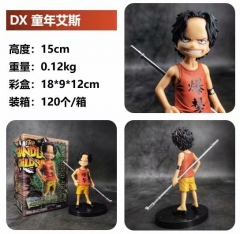 DX One Piece Youth Ace Cosplay Cartoon Model Toy Statue Collection Anime PVC Figures