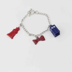 Doctor Who Cartoon Alloy Wristband Decoration Pendant