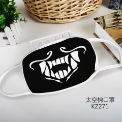 League of Legends Cosplay Cartoon Mask Space Cotton Anime Print Mask