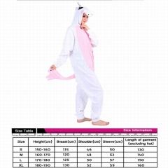 Unicorn Cute Animal Unisex Cosplay Cartoon For Adult Pajamas Anime Pyjamas