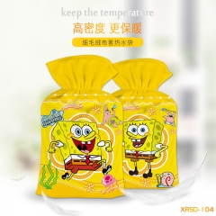 SpongeBob SquarePants Cosplay For Warm Hands Anime Hot-water Bag