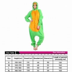 Tortoise Cute Animal Unisex Cosplay Cartoon For Adult Pajamas Anime Pyjamas