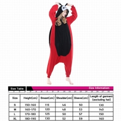 Coccinella Septempunctata Cute Animal Unisex Cosplay Cartoon For Adult Pajamas Anime Pyjamas