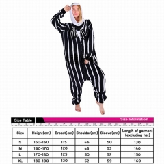 Nightmare Before Christmas Jack Cosplay Cartoon For Adult Pajamas Anime Pyjamas