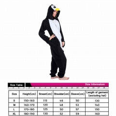 Penguin Cute Animal Unisex Cosplay Cartoon For Adult Pajamas Anime Pyjamas