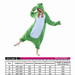 Frog Cute Animal Unisex Cosplay Cartoon For Adult Pajamas Anime Pyjamas
