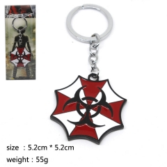 Resident Evil Cosplay Cute Hot Movie Decoration Pendant Anime Keychain
