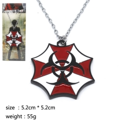 Resident Evil Cosplay Cute Hot Movie Decoration Pendant Anime Necklace