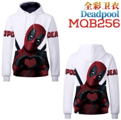 Super Hero Deadpool Fashion Cosplay Anime Sweater Hooded Pullover Hoodie