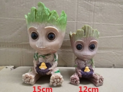 2 Size Guardians of the Galaxy Groot Movie Collection Cartoon Model Toy Statue Anime PVC Figure