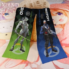 Overwatch Cosplay Cartoon For Winter Hat Warm Decoration Scarf