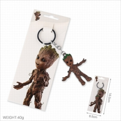 Guardians of the Galaxy Cartoon Pendants Key Ring Fashion Decoration Anime Keychain