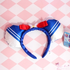Japanese Cartoon Pretty Soldier Sailor Moon Girl Lovely Hair Clip Plastic Headband