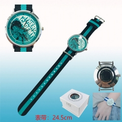 Boku no Hero Academia / My Hero Academia Cosplay Cartoon Watch Nylon Belt Anime Wristwatch