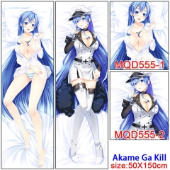 Akame ga KILL! Long Pillow Cosplay Fancy Pillows 50*150CM