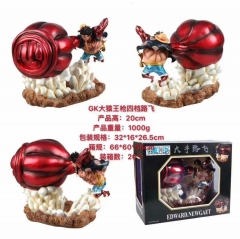 GK One Piece Gear Fourth Luffy Cartoon Collection Cospaly Model Toy Statue Anime PVC Figure