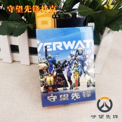 Overwatch Game Cosplay Cartoon Playing Card Anime Poker