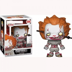 Funko Pop Stephen King's It Pennywise Movie Anime Action Figure Toy 544#