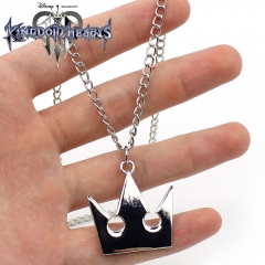 Kingdom Hearts Cosplay Cartoon Pendant Anime Alloy Necklace