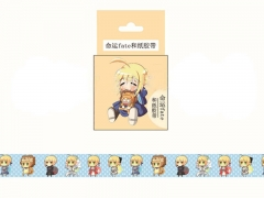 Japanese Cartoon Fate Stay Night Anime Stickers Kawaii Washi Tape