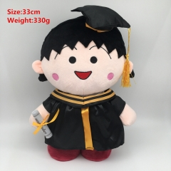 Sakura Momoko Cosplay Cartoon For Gift Doll Anime Plush Toy