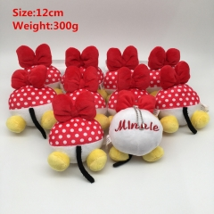 Disney Minnie Cosplay Cartoon Lovely For Gift Doll Toy Anime Plush Pendant 10Pcs Per Set
