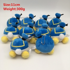 Disney Donald Fauntleroy Duck Cosplay Cartoon Lovely For Gift Doll Toy Anime Plush Pendant 10Pcs Per Set