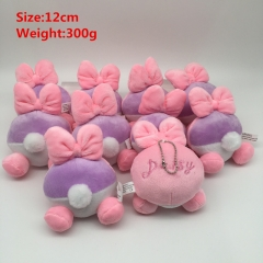 Disney Daisy Duck Cosplay Cartoon Lovely For Gift Doll Toy Anime Plush Pendant 10Pcs Per Set