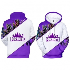For Adult Children Fortnite Cosplay Game 3D Print Casual Hooded Anime Hoodie