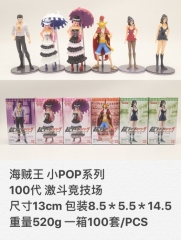 One Piece Japanese Cartoon Anime PVC Figure ( 6pcs/set) 13cm