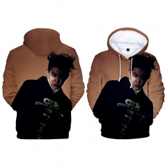 For Adult K-POP EXO  Cosplay Korean Star 3D Print Casual Christmas Style Hooded Anime Hoodie