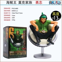 One Piece Vinsmoke Yonji Cartoon Home Decoration Wholesale Anime Figures 11CM