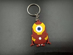 Despicable Me Cos American Hero Cartoon Character Pendant PVC Anime Keychain