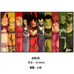 Dragon Ball Z Cartoon Placard Home Decoration Retro Kraft Paper Anime Poster