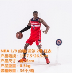 NBA Basketball Star 1:9 John Wall #2 Action Anime Figure in Original Box 22cm