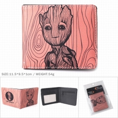 Guardians Of The Galaxy PU Leather Wallet Bifold Short Coin Purse