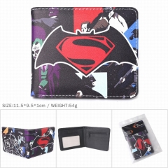 Marvel Superman PU Leather Wallet Bifold Short Coin Purse