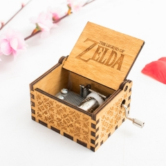 The Legend Of Zelda Retro Creative Anime Music Box For Kids Birthday New Year Gifts