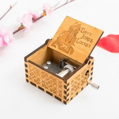 Pirated of the Caribbean Retro Creative Anime Music Box For Kids Birthday New Year Gifts