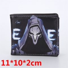 Game Overwatch Bifold Wallets PU Leather Short Wallet