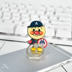Japanese Anpanman Cartoon Alloy Kawaii Phone Holder